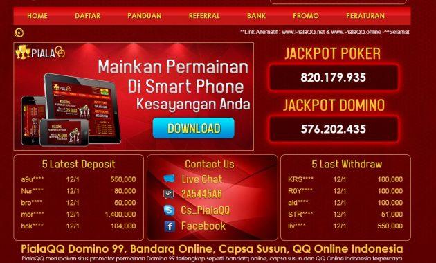 Domino Qiu Qiu, Domino Online, Domino 99, Poker Online, QQ